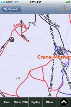 CransMontana Ski App Ski App Android iPhone