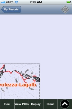 Diavolezza-Lagalb ski map - iPhone Ski App