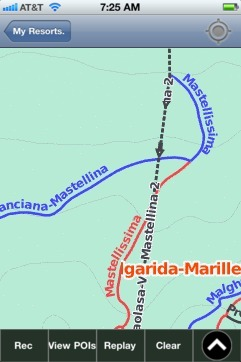 Folgarida-Marilleva ski map - iPhone Ski App