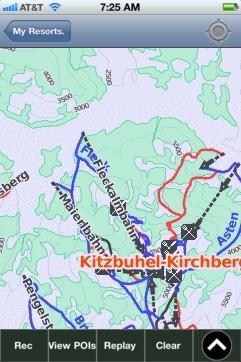 KitzbuhelKirchbergGaisberg Ski App Ski App Android iPhone