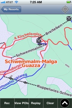 Schwemmalm-Malga Guazza ski map - iPhone Ski App